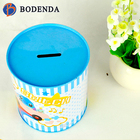food grade custom empty coin bank money box