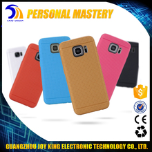 JoyKing Guangzhou Factory Wholesale Hot selling Soft Colorful TPU Gel silicon case cover for samsung galaxy S7 S7 edge.