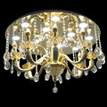 luxury hotel zinc alloy crystal lighting