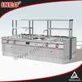 Professional Commercial natural gas cooktop/price of stove