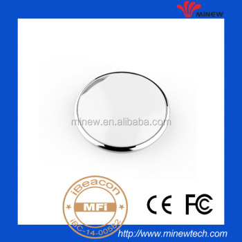 High quality bluetooth 4.0 module neckstring and keychain bluetooth low energy ibeacon tag