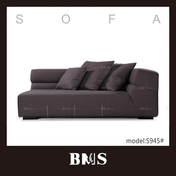 Tall people design leisure fabric sofa German furniture