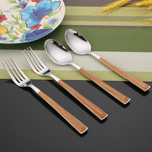 wooden cutlery set japan stainless steel flatware set stainless steel cutlery