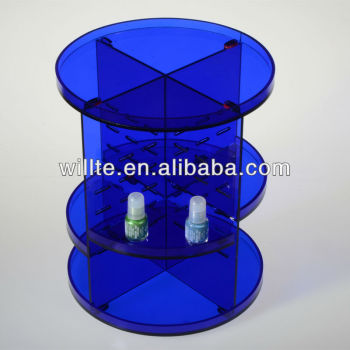 Popular Acrylic Cosmetic Store Display/Plexiglass Makeup Display Unit
