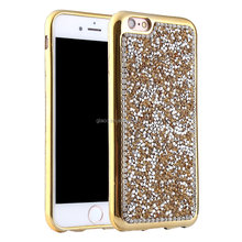 New Cases for Iphone 6/6s Fashionable Full Crystal Bling Stone Diamond Cover Hard PC Plated Bumper Protective Phone Case