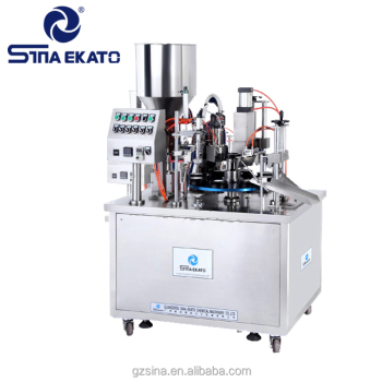 Guangzhou Sina Ekato Full Automatic tube filling and sealing machine for food ice candy , dail chemical industry, medicine