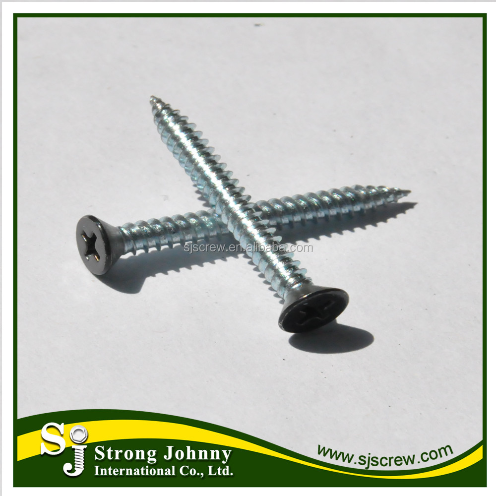 Head painted steel decorative screws