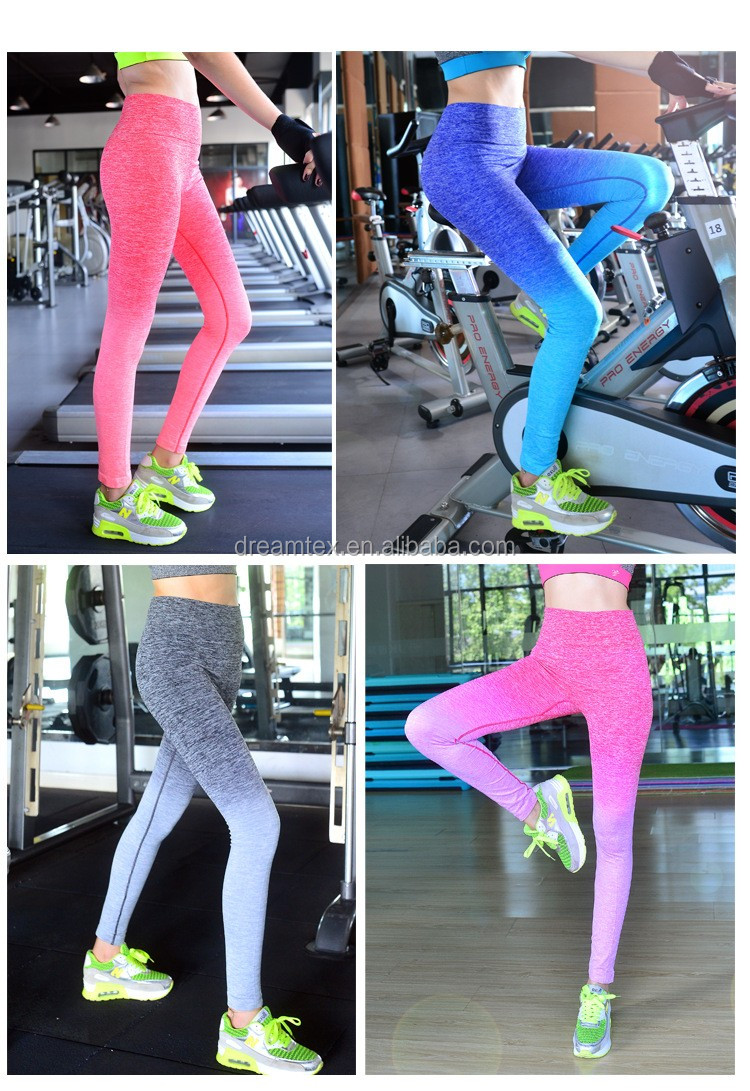 Women sexy fashion yoga pants tight slim pants wholesale