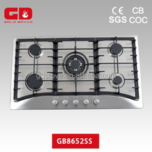 Convenient heavy cast iron pan support special design gas cook/ energy saving kitchen appliance
