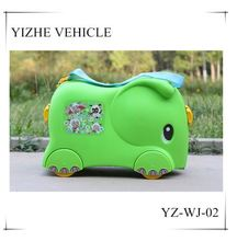 Cheap Plastic PP kids travel suitcase boy luggage bag toy wholesales