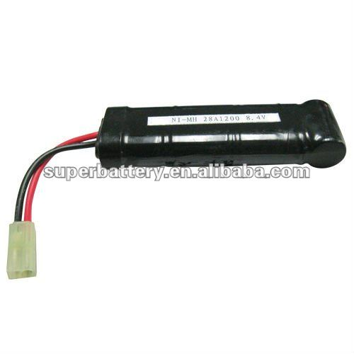 28A 1200mAh 8.4V AA NiMH RC dynamic Rechargeable Battery
