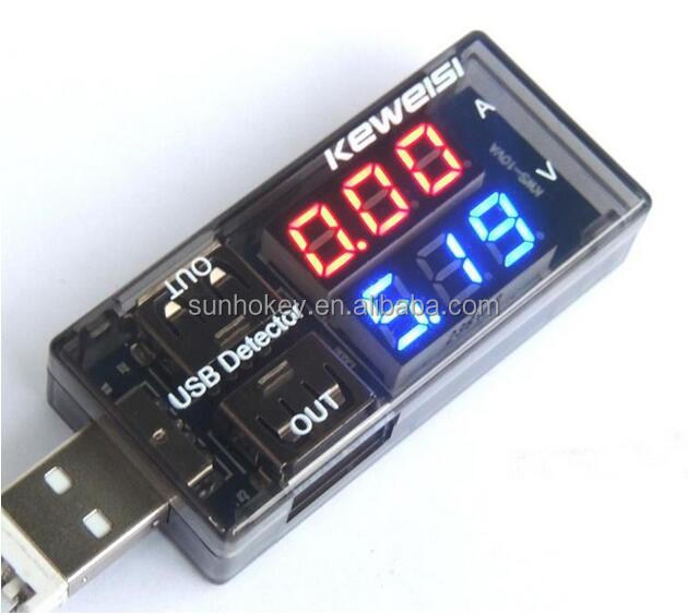 USB Charger Doctor Current Voltage Detector Mobile Power USB <strong>Tester</strong>