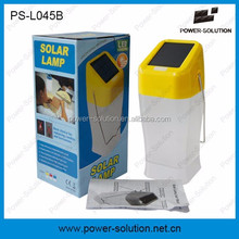 portable solar powered outdoor lights with two brightness