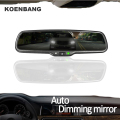 Car Accessories Manufacturer KOEN High Quality Factory Replacament 4.3 Inch Ultra high Reflective Auto Dimming Mirror