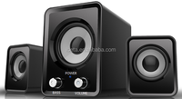 2.1 USB Subwoofer system with 2 speakers