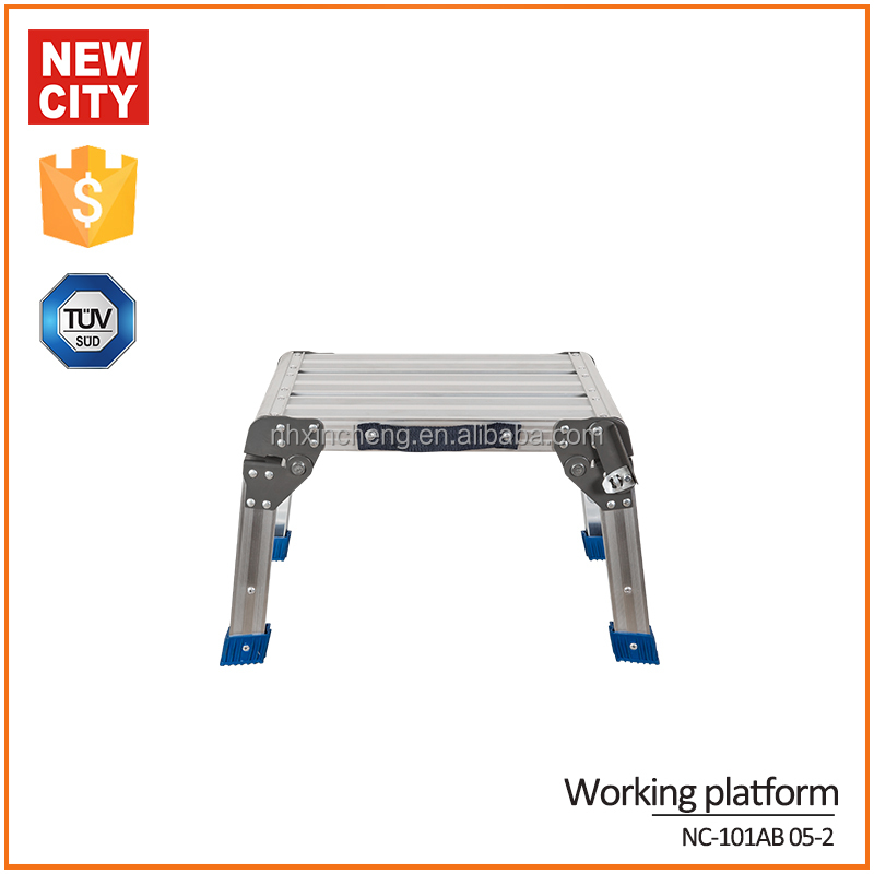 6061T5 aluminum 580*350*335mm adjustable step stool