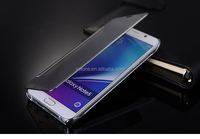 mirror case for samsung galaxy note 5 / flip case cover for samsung galaxy note3 neo / mirror phone case