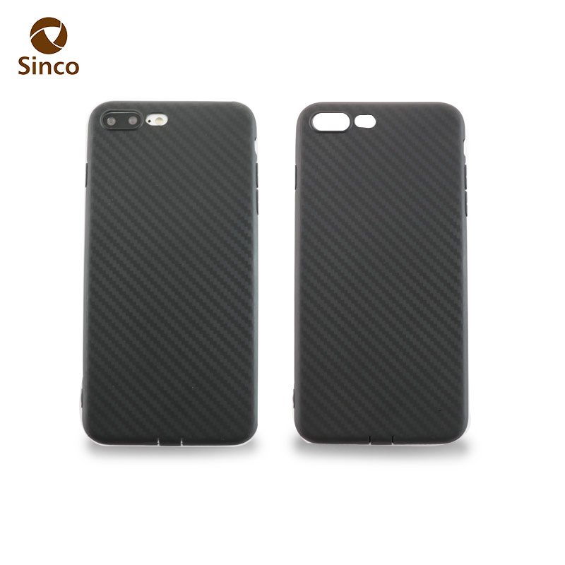 carbon fiber soft tpu case silicon mobile phone cover for iphone 7 s