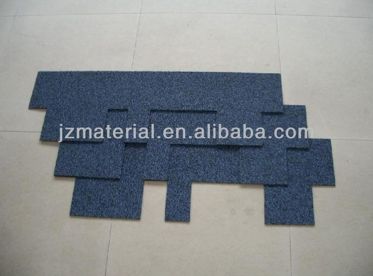 Bituminous asphalt shingles /The Colorful blue Laminated Fiberglass Asphalt Roof Shingles