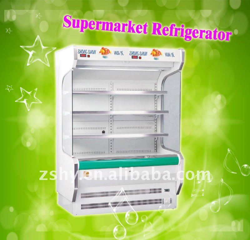 Air Curtain Refrigerators