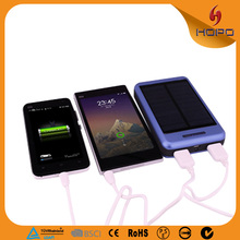 Solar Power Bank 12000mah high capacity power bank, battery charger for Mobile phone /pad/camera