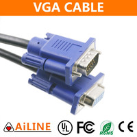 AiLINE High Quality VGA DB15 Male to DB9 Female Cable