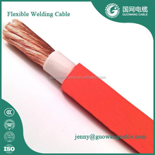 Heavy Duty Cable Super Flexible Welding Equipment Arc Rubber Copper Welding Cable