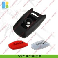 fashion design silicone car key case for bmw