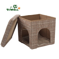 New design easy take and eco friendly indoor pet houses for cats and dogs