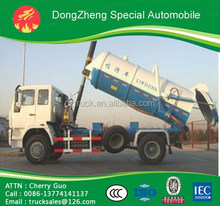 China New HOWO China SinoTruck 8m3 Sewage Suction Tank DZ5161GXWZJ