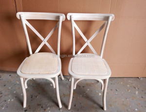 2018 Wood Cross Back Chairs, Aluminum nail made cross chair,cross chair