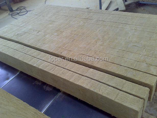 Thermal insulation soundproof rock wool board buy rock for Mineral wool board insulation price