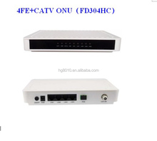 4FE+CATV ONU FD304HC for FTTH or FTTO