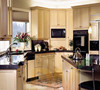 2014 Italian kitchen cabinet Frame-less wood cabinet design