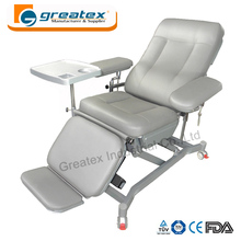 Medical electric chair blood donor luxury hospital bed