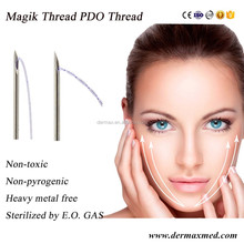Absorbable pdo barbed thread sterile for face eyebrow Lift