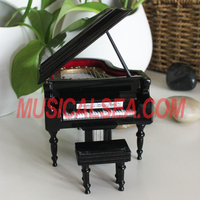 Miniature Grand Piano Music Box And
