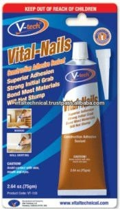 VT-133 Vital-Nails Paste-Like Construction Adhesive Sealant