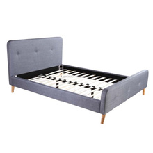 Home Bedroom Use Fabric Bed Frame From Chinese Manufacturer