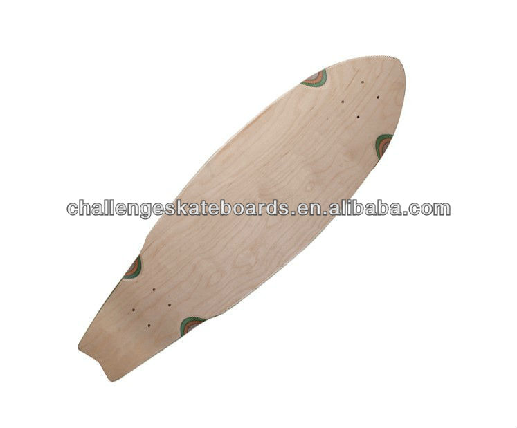 7 ply Canadian maple skateboard deck