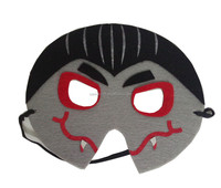 round ninja vampire face mask for children