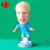 World cup 2014 plastic soccer player toys figures