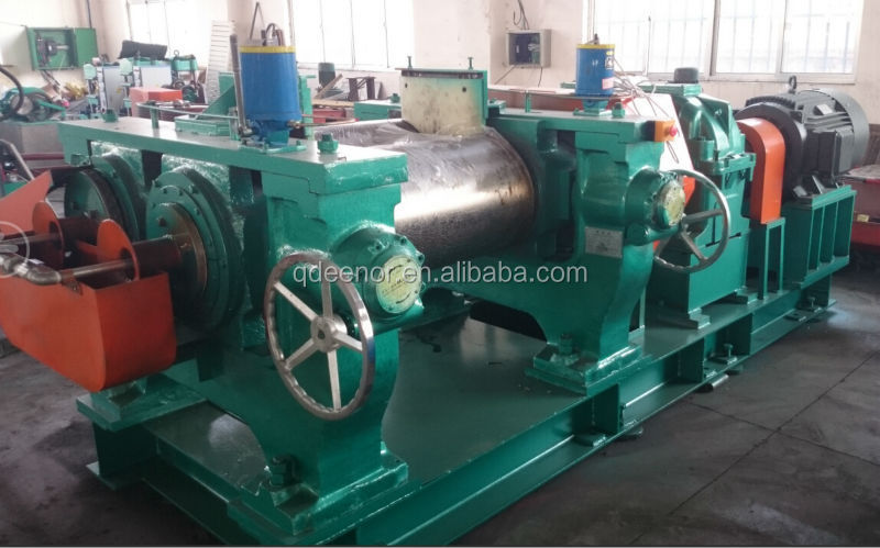 Two Roll Mixing Mill / Rubber Sheeting Machine