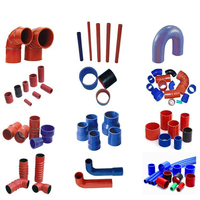 custom intercooler silicone hose/universal silicone hose all types/elbow silicone turbo hose