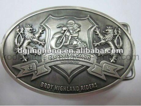 2012 fashion zinc alloy guitar belt buckle