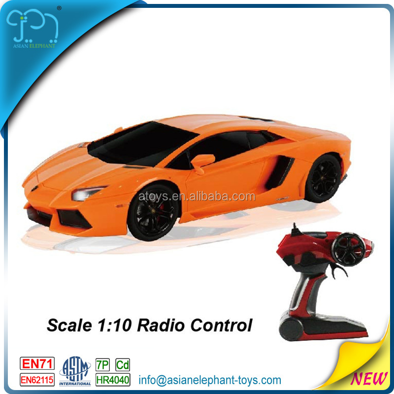 2.4 GHZ Authorized Licensed RC Import Cars For 2017 Ho Scale RC Cars 1/10 Electrics Brushless With EN71