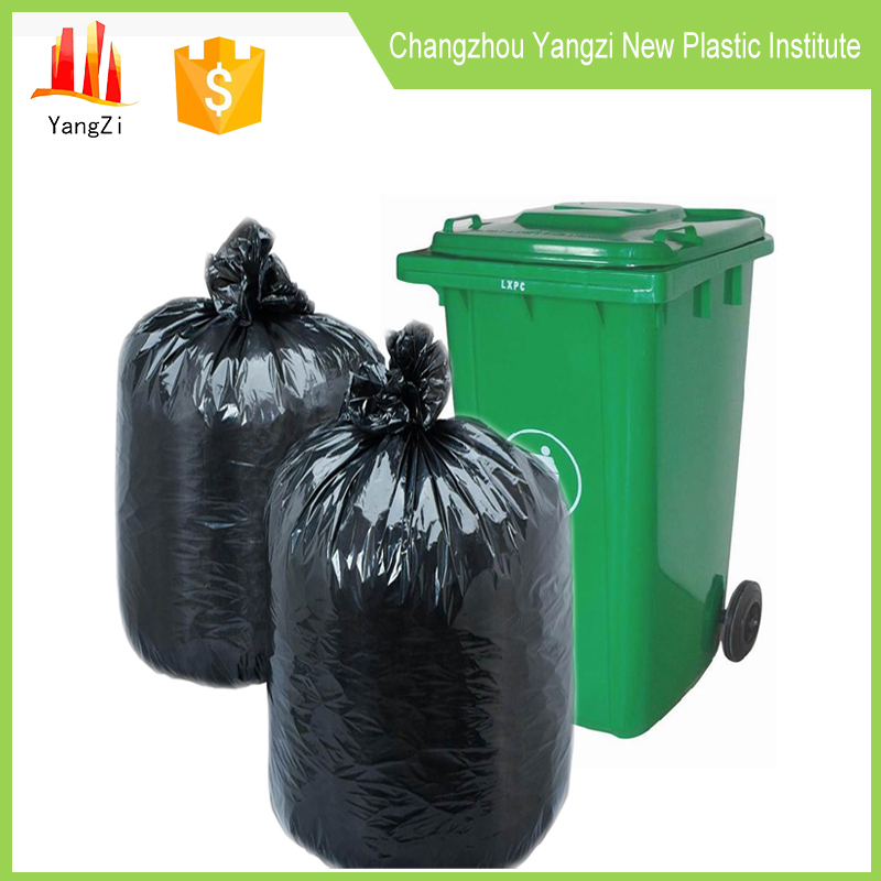 Public use plastic 100% biodegradable garbage bag manufacturing