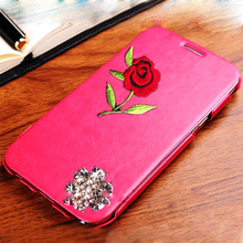 fashion leather case for apple iphone 5 case, for iphone 5 leather flip case cover