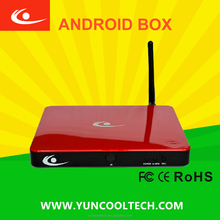 Android smart tv box with home NVR surveillance function cloud technology