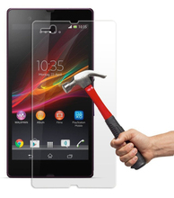 Fast Delivery 3D Curved Full Screen Cover Glass Screen Protector for Sony Xperia Z L36h